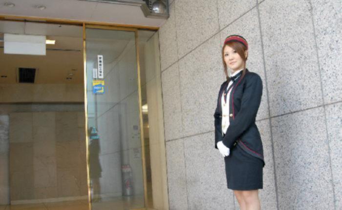 Трах азиатской стюардессы