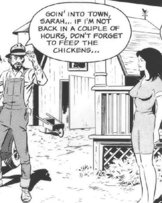 Горячий оральный секс в комиксах