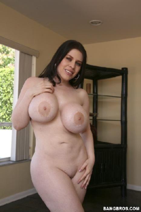 Толстая красотка с большой грудью