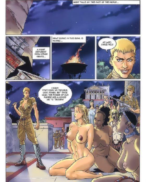 Горячий порно комикс об оргиях в Древнем Риме