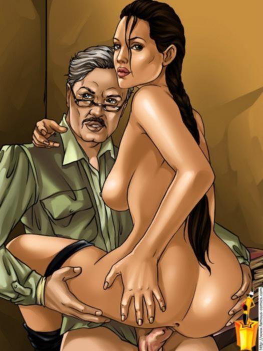 Комиксы с аппетитной сексуальной девушкой