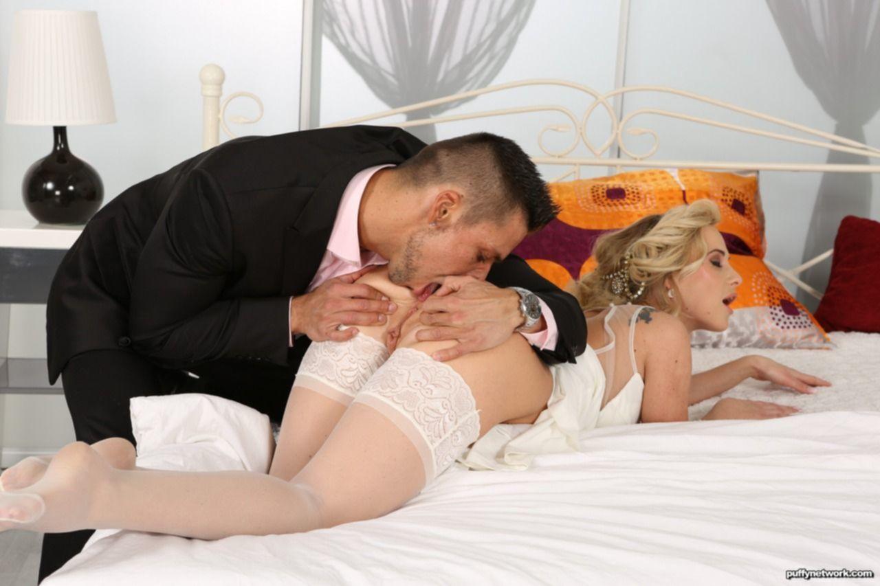 Сисястая невеста жестко ебется с другом жениха перед свадьбой